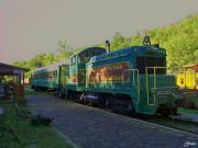 Train Ride Prints - Eureka Springs Railway Print by Julie  Grace