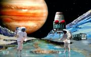 Astronomical Art Digital Art - Europa Life by Bill Wright