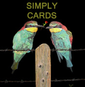 Simply Cards Prints - European Birds Print by Eric Kempson