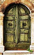 Italy History Prints - European Door II Print by Jason Evans