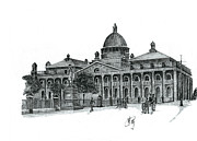 Europe Drawings - Europian Palace by Liora Huang