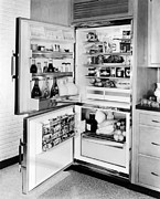 Time Gone By Photos - Ev1905 - Refrigerator, 1961 by Everett