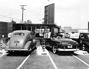 Time Gone By Photos - Ev1917 - Drive-in Restaurant The Track by Everett