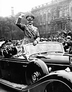 Hitler Photos - Ev1947 - Adolph Hitler Acknowledges by Everett