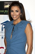 Fundraiser Art - Eva Longoria At Arrivals by Everett