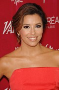 Four Seasons Hotel Framed Prints - Eva Longoria At Arrivals For Varietys Framed Print by Everett