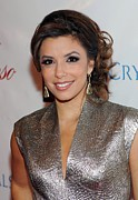Drop Earrings Posters - Eva Longoria Parker At A Public Poster by Everett
