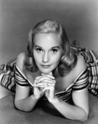 Striped Dress Art - Eva Marie Saint, Ca. 1950s by Everett