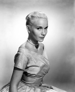 Hair Bun Metal Prints - Eva Marie Saint, Ca. 1956 Metal Print by Everett