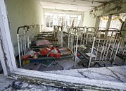 Evacuated Kindergarten Near Chernobyl Print by Ria Novosti