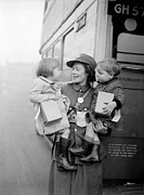 Evacuee Prints - Evacuee Bus Print by Parker