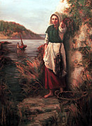 Longfellow Paintings - Evangeline by Lynda Bjornson Moyer