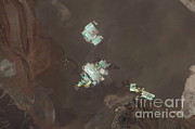 Evaporation Posters - Evaporation Ponds, Salar De Atacama Poster by NASA/Science Source