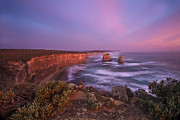 12 Apostles Framed Prints - Evening Beauty Framed Print by Renee Doyle