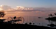 Jenny Rainbow - Evening Bell. Sunset on Valaam Island. Northern Russia