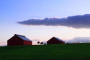 Daviess County Art - Evening Farm by Shellie Midgette