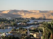 Hathor Prints - Evening in Aswan Print by Richard Deurer