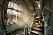 Haunted House Photo Acrylic Prints - Evening light cooming in Acrylic Print by Nathan Wright