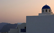 Evening Light Prints - Evening Light In The Greek Islands Print by Bob Christopher