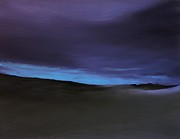 Sand Dunes Paintings - Evening Light by Michael Marrinan