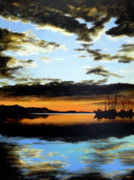 Bethany Windham Engle Art - Evening Reflection by Bethany Windham Engle