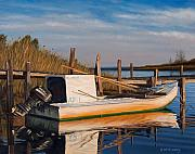 Apalachicola Prints - Evening Rest Print by Rick McKinney