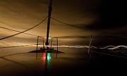 Evening Sail Print by Matt Tilghman