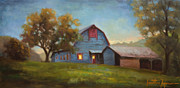 East Tennessee Paintings - Evening Sanctuary by Jonathan Howe