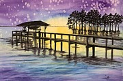 Karen Casciani - Evening Sky in Edenton