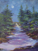 Quietude Paintings - Evening Sounds by Ann Arensmeyer