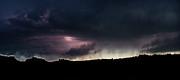 Evening Storm 2 Print by Terril Heilman