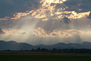 Fort Collins Art - Evening Storm Clouds by Renee Skiba