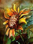 Seeds Digital Art - Evening Sun by Mindy Newman