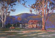 Bush Pastels - Evening Tapestry Dyers Crossing by Louise Green