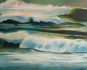 Melody Painting Originals - Evening Tides by Melody Cleary