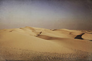 Sand Dunes Digital Art Posters - Ever Changing Poster by Laurie Search