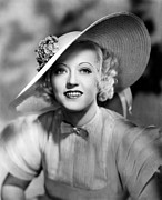 Wide Brim Hat Posters - Ever Since Eve, Marion Davies, 1937 Poster by Everett