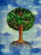 Tree Roots Paintings - Everdream by Brenda Owen