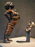 Black Sculptures Reliefs - Every Day is Mothers Day by Tomi LaPierre