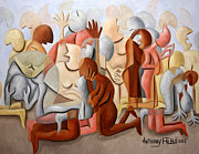 Talking Art - Every Knee Shall Bend every mouth Shall Confess Jesus Is Lord by Anthony Falbo