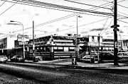 Everybody Goes To Melrose - The Melrose Diner - Philadelphia Print by Bill Cannon