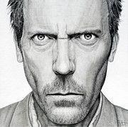 Gregory House Art - Everybody Lies by Rob Dumont