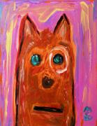 Visionary Art Painting Prints - Everyone Should Have a Dog Print by Mary Carol Williams