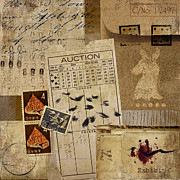 Ephemera Prints - Evidence Print by Carol Leigh