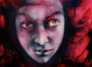 Valuable Painting Originals - Evil 72 by Barbara  Agreste