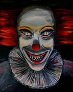 Evil Clown Print by Daniel W Green