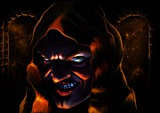 Evil Digital Art Originals - Evil by Gabriel Black