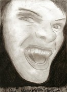 Evil Drawings Originals - Evil by Raine Bryant