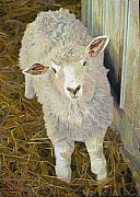 Egg Tempera Paintings - Ewe and Me Kid by Bruce Kaminski