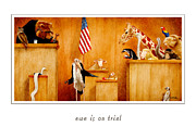 Court Paintings - Ewe is on trial... by Will Bullas